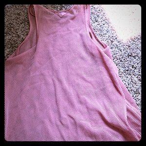 ALO yoga mesh tank top workout shirt size small